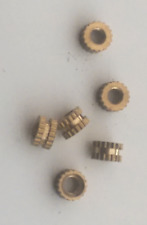 M3 knurled nut M3 x 3mm brass insert - UK Seller