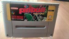 PINBALL DREAMS SUPER NINTENDO
