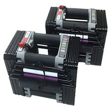 New PowerBlock Elite 5-50 lb Set Dumbbells (Pair) 5010008600