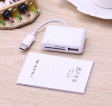 Type C OTG Adapter USB U Flash Disk SD TF Card Reader For iPad Pro Huawei P9 P30