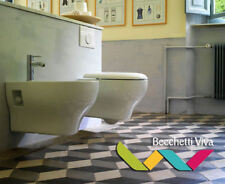 SANITARI SOSPESI GLOBO SERIE GRACE 52.36 - VASO WC + SEDILE + BIDET