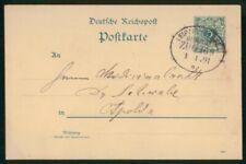 Mayfairstamps Germany 1891 Leipzig Card wwo_04379