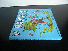 Chaunu-Le routard politique-1995-dédicace avec dessin à Mic Delinx-caricatures