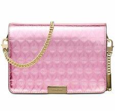 Michael Kors 30h7gj4c8k Jade Soft Pink Medium Gusset Clutch Crossbody Bag