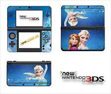 SKIN STICKER AUTOCOLLANT - NINTENDO NEW 3DS - REF 194 LA REINE DES NEIGES