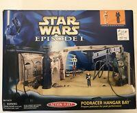 Star Wars Galoob Action Fleet 1998 Podracer Hanger Bay BRAND NEW