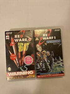 Bbc Red Dwarf Vhs Tapes Smeg Outs Confidence & Paranoia