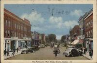 Granby Quebec Main St. c1940s Postcard