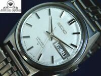 SEIKO LORD MATIC 5606-7020 AUTOMATIC DAY-DATE 25JEWELS MEN'S VINTAGE WATCH JAPAN
