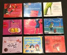 9 Hörbücher auf CDs
