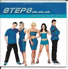 CD SINGLE 2 TITRES--STEPS--LAST THING ON MY MIND--1998