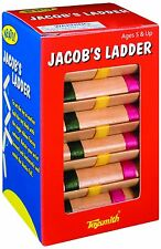 Toysmith JACOB'S LADDER Optical Illusion Classic Wooden Toy 6195