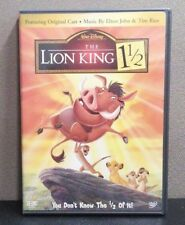 Authentic Disney:The Lion King 1 1/2 DVD, LIKE NEW