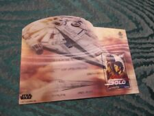 Star Wars - Han Solo Chewbacca - Francobollo 3D -  Lenticular Stamp € 5,00 Spain