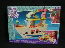 Littlest Pet Shop LPS Cruise Ship Playset New Series 1 Hasbro 2016 Turtle Kitty