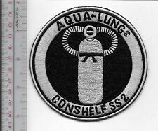 SCUBA Diving USA US Divers Aqua-Lung Conshelf SS2 Regulator Patch Los Angeles CA