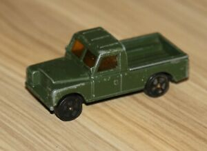Vintage Corgi Juniors LAND ROVER Pick-up Green Made In GB