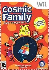 Cosmic Family Wii Great Condition Fast Shipping