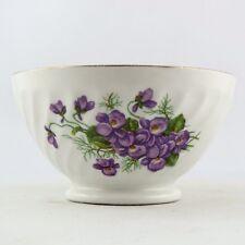"""Petit Bol Ancien Porcelaine """"Fleur Violettes"""" Dînette Vintage limoges/toy bowl"""