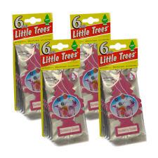 Car-Freshner Little Trees Car Home Office Air Freshener Sunberry Cooler -24 PACK