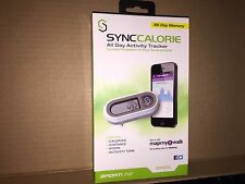 SportLine Sync Calorie All Day Activity Tracker WV3733WH NEW SEALED