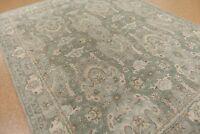 Persian Traditional hand tufted Heriz Green 5X8 8X10 9X12 wool area rug THG9