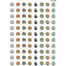 Zoo Animals Mini Stickers Teacher Created Resources Tcr4080