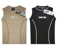 Kids Childrens Sleeveless Compression Top Vest skins + FREE Black Football Socks