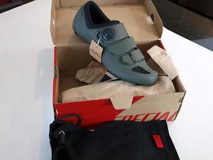 Specialized Body Geometry Audax Rd Shoes Oak Green 11.75 US, 45.5 EU NEW
