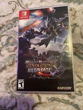 Monster Hunter Generations Ultimate (Nintendo Switch,2018)
