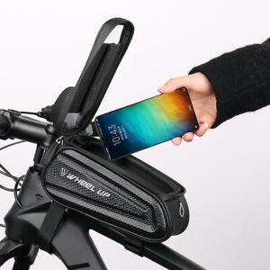"""Waterproof Road MTB Bicycle Bike Mount ≤6.7"""" Phone Holder Case Bag Pouch Cover"""