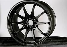Varrstoen Es3 18X9.5 5X100 Et34 Matt Black (Dual Drill) (1 Wheel Only)