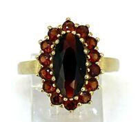 Granat Ring  Granate 333er  Gold  # 58