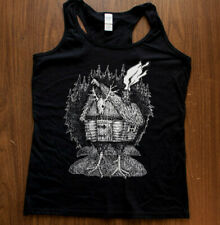 Baba Yaga Hut Women Tank Top Cami Dark Art Punk by Mike Vivisector