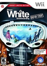 *COMPLETE W/ SLIP COVER Shaun White Snowboarding: Road Trip (Target Edition Wii)