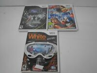 Lot of 3 Wii Games ,Wipeout The Game-Shaun White Snowboarding -Star Wars Force