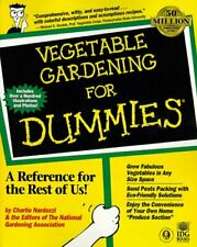 Vegetable Gardening For Dummies? by Nardozzi, Charlie|The Editors of the Nati…