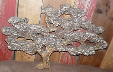 Vintage Wall Art Bonsai Tree Japanese Sculpture Vtg Decor Mid Century