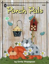 Tole Painting Porch Pals by Carla Thompson Easy to Make Wind Chimes & More