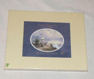 Thomas Kinkade The Guiding Light TWO Matted Prints NIB