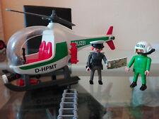 Playmobil - 3907 - Polizeihubschrauber D / Helikopter / gebraucht - von 1997