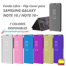 FUNDA SAMSUNG GALAXY NOTE 10 / 10+ / 5G CARCASA FLIP CLEAR VIEW LIBRO TAPA PLUS