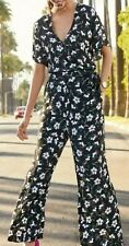 Next Black Floral Jumpsuit - Size 20 - BNWT