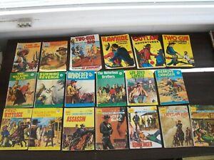 Western Comics x19 Sabre Library, Two Gun Kid, Cowboy Adventure, Pocket Western