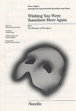 Wishing You Were Somehow Here Again Learn Vocal Choral Voice Music Book