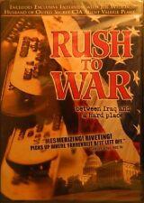 RUSH to WAR(2004)Between Iraq and a Hard Place Bonus Interview Joe Wilson SEALED