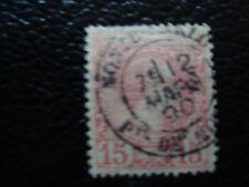 MONACO - timbre - yvert et tellier n° 5 obl (A8) stamp