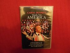 CAHAL DUNNE'S THANK YOU AMERICA, DVD, AS SEEN ON PUBLIC TV, NEW, RARE