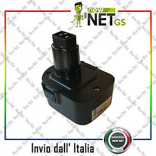 Batteria compatibile per Dewalt DE9037 12V 2000mAh 03030
