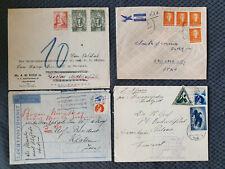 Holland, 4 Briefe 1931-40 nach Java, Pretoria, Goslar und Salt Lake City